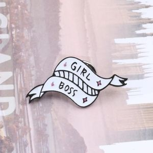 Girl Boss Banner Fashion Pin ✴